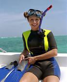 snorkelling equipment