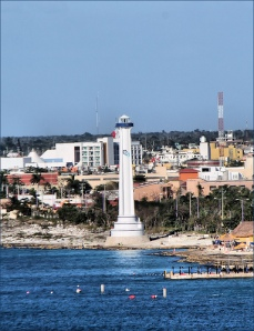 Cozumel lighthouse