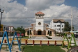 Plaza of Puerto Morelos