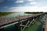 bridge in Sian Ka'an